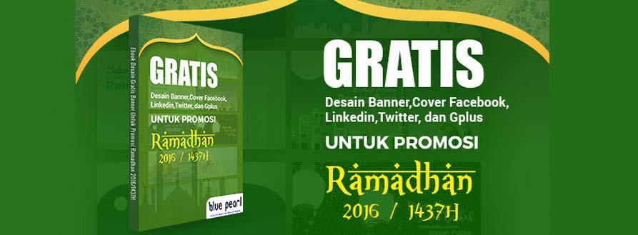 Desain Gratis Promosi Ramadhan 1437H (2016)